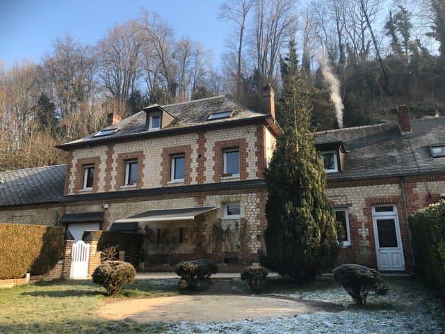 XVIIem het huis volledig gerenoveerd 270m2 - Le Héron - Huis