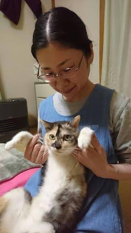 experience traditional Japanese music&cute cats - Imizu-shi - Huis