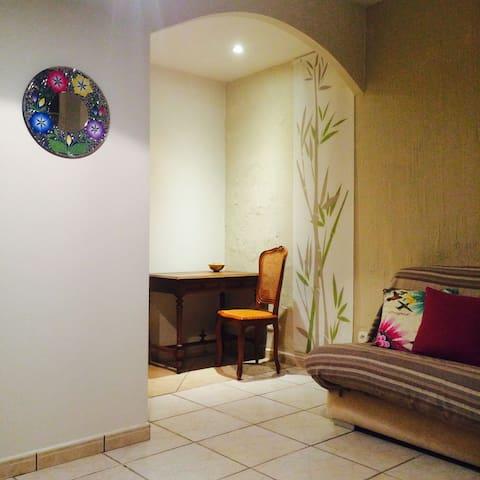 Bel appartement calme centre ville de Tarbes , - Tarbes - Daire