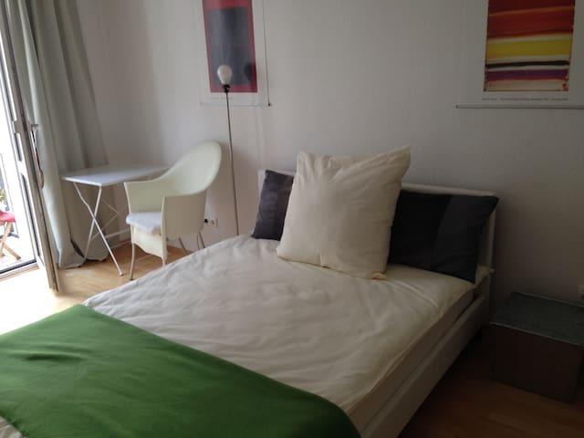 Museumsufer - Zentral, ruhig, super Lage! Great! - Frankfurt am Main - Apartamento