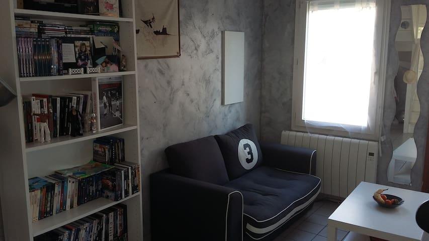 Bel appartement avec jardin à Brie - Brie-Comte-Robert - Lägenhet