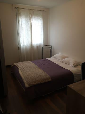 Chambre confort à 40 min des stations - Meylan - Appartement