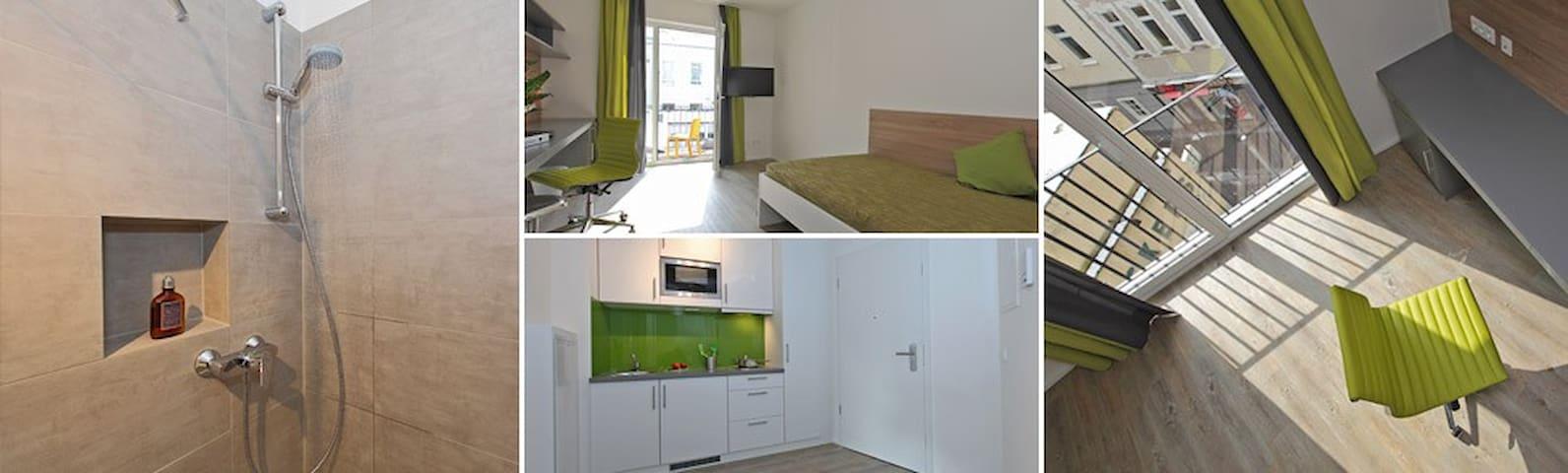 Voll möbliertes Zimmer im Bonner Zentrum - 波恩 - 公寓