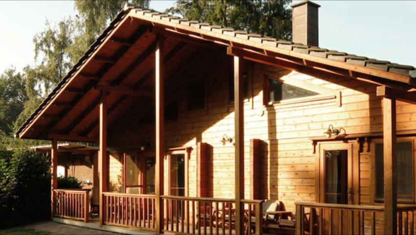 Urlaub im Blockhaus - Ochtrup - Cabaña