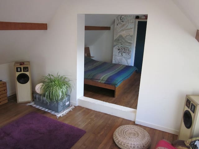 Larchant, in the Fontainebleau boulder forest! - Larchant - Bed & Breakfast
