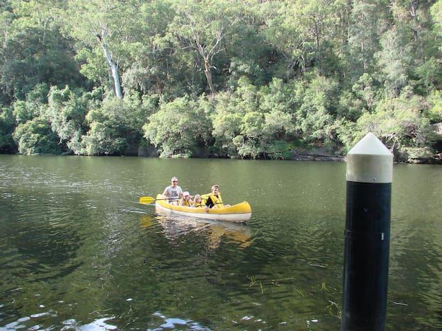 Colo River hideaway 80 mins from Sydney CBD. - Lower Portland - Dům