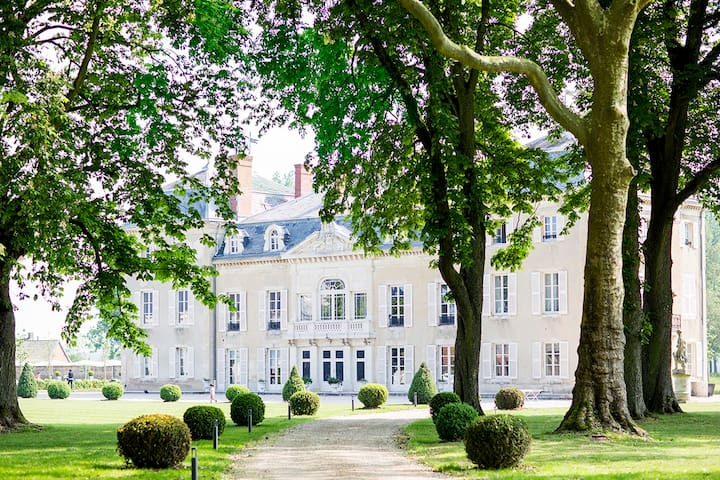 Luxury chateau in the Burgundy wine region - Charette-Varennes - Slott