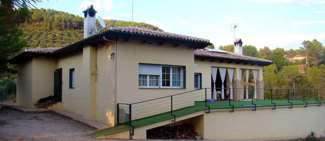 Casa Rural Moderna en Parque Natural - 6 personas - Albacete - Chalet