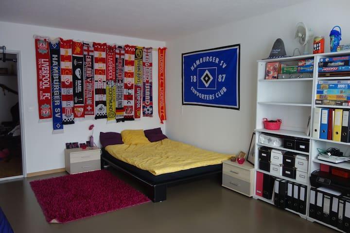 Spacious room - 15 min from Zurich city centre! - Dietikon - Apartamento