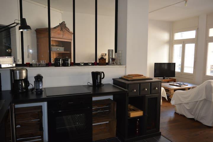 Appartement cosy au coeur du centre ville - Roanne - Appartement