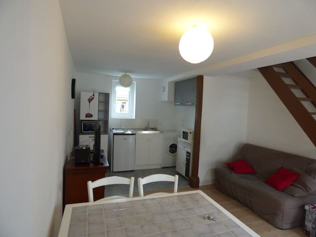 Appartement 40m2 rénové, tout confort - Honfleur - Appartement