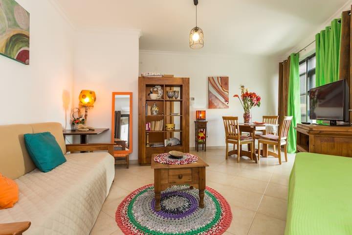 Brand New Flat Beach 1 Minute Away - Quarteira - Appartement