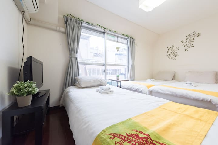 Cozy house in JR Sta./Suitable for couples /TW59 - Shinagawa-ku - Departamento