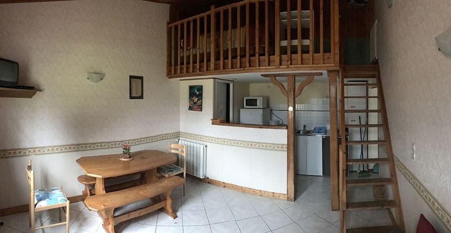 Gîte 4 personnes Baie du Mont-Saint-Michel - Vessey - Huis