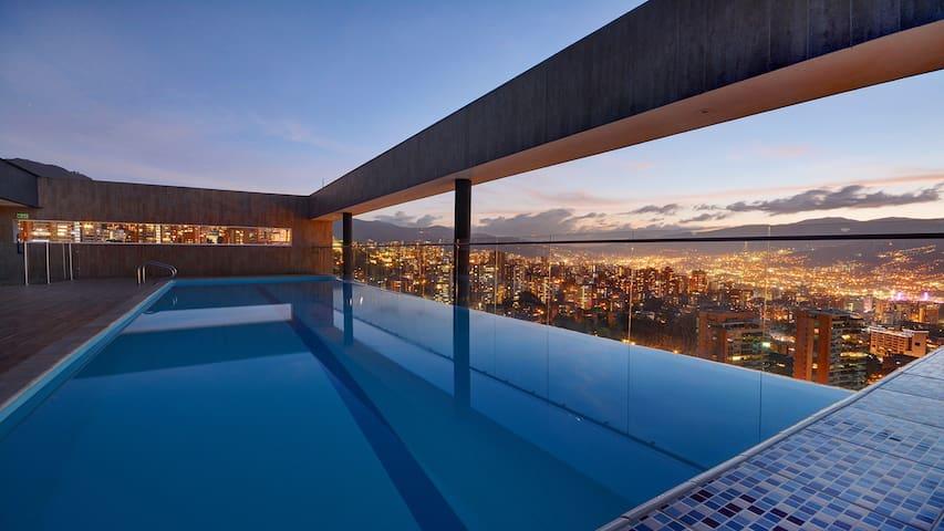 Stunning condominium in El Poblado - Medellin(1) - Medellín - Selveierleilighet