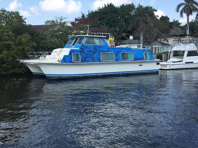 Houseboat in Delray Beach - Delray Beach - Boot