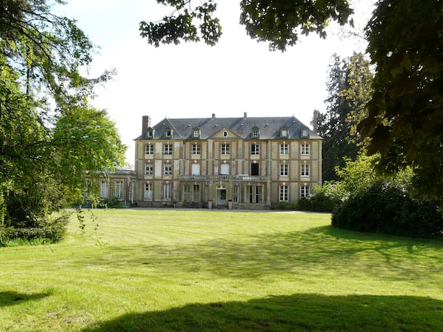 Chambre d'hôtes dans un chateau au nord de Rouen - Bierville - Kasteel