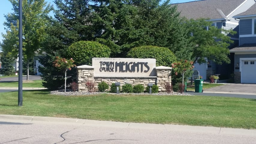 Town Coarse Heights Penthouse - Chaska - Appartement