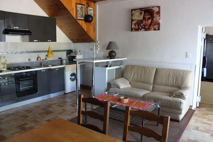gîte les coccinelles - Saint-Étienne-de-Boulogne - Apartamento