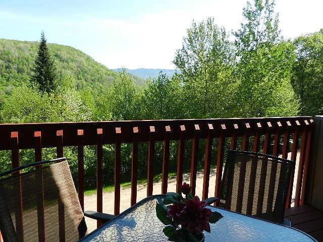 Tremblant, view, quite, good price! - Mont-Tremblant - Appartamento