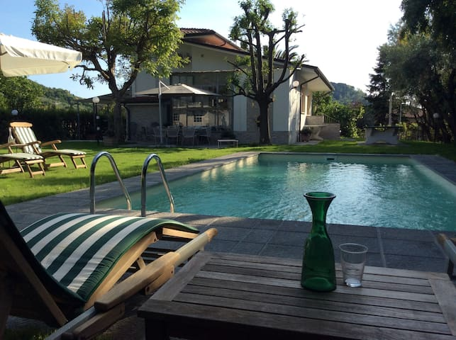 villa Gentilina with pool country and beach - Stiava