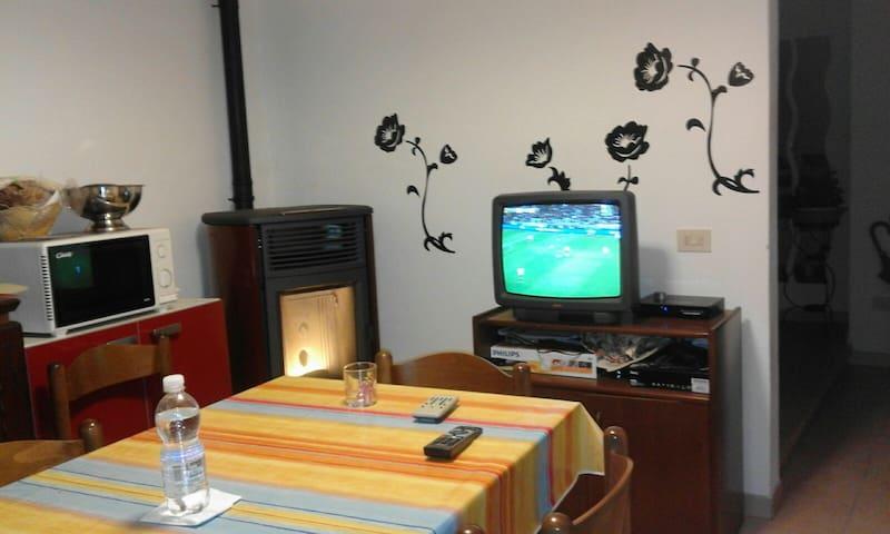 Appartamento azzurro - Volegno - Appartement