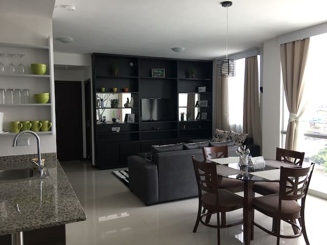 FULLY EQUIPPED APARTMENT DELUXE in San Jose - San José - Apartamento