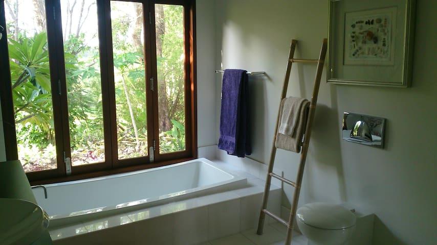 Peaceful luxury separate studio & ensuite - Doonan - Konukevi