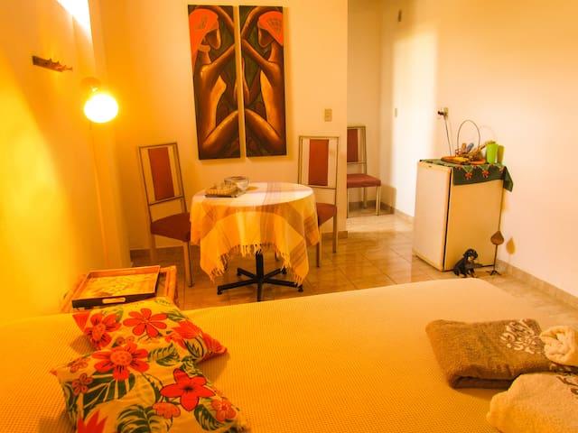 SUÍTE  (INHOTIM e Clube de Vôo Livre ) - 布魯馬迪紐(Brumadinho) - 家庭式旅館