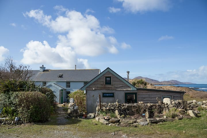 Shore Cottage on the Beara Way, Wild Atlantic Way. - Cork - Hus