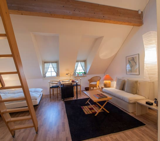 Landhaus Hense, abgeschlossene Atelierwohnung - Mühlethal - Condo