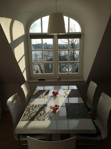 Maisonette Wohnung -Direkt am Fluss - Rostock - Departamento