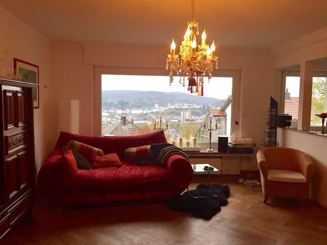 Ruhe in herrlicher Arnsberger Lage mit Ausblick - Arnsberg - Apartamento
