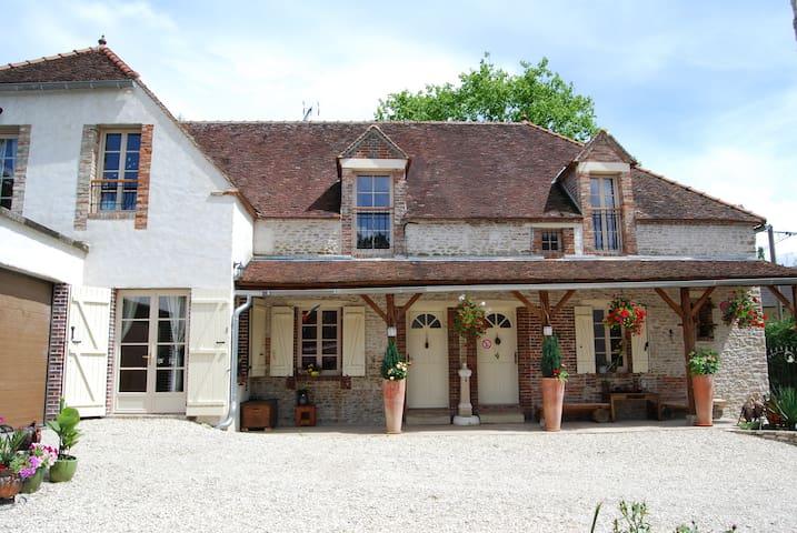 La ferme des Coccinelles-Chambre Bambou - Courtaoult - Guesthouse