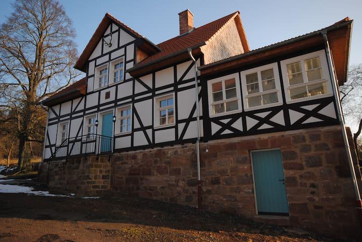 Farbenfrohes Ferienhaus - Ludwigsau - Ev