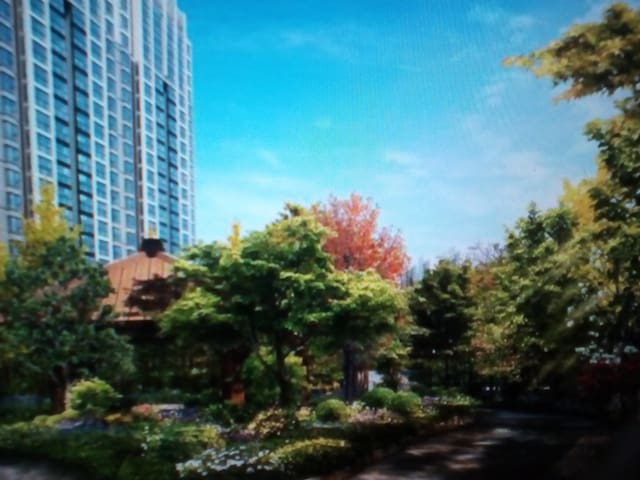 吴淞外滩无敌景观公寓 2房 - Shanghai - Leilighet