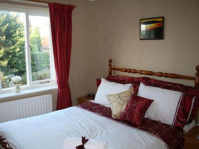 Double bedroom /private bathroom - Oswestry - Гестхаус
