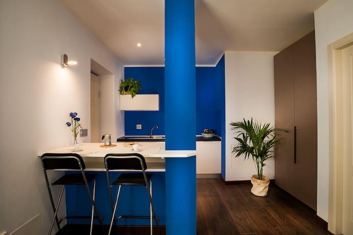 Arc en Ciel Appartamento Blu - Cocconato - Pis