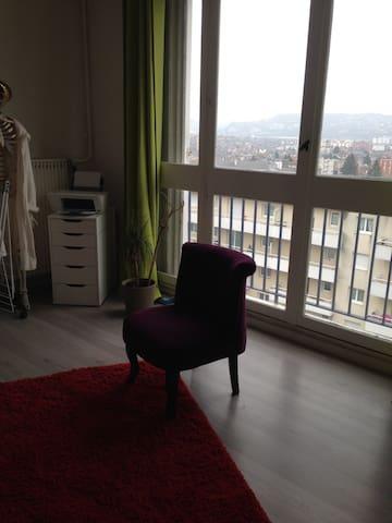 Appartement à proximité du jardin des plantes - Sotteville-lès-Rouen - Apartemen