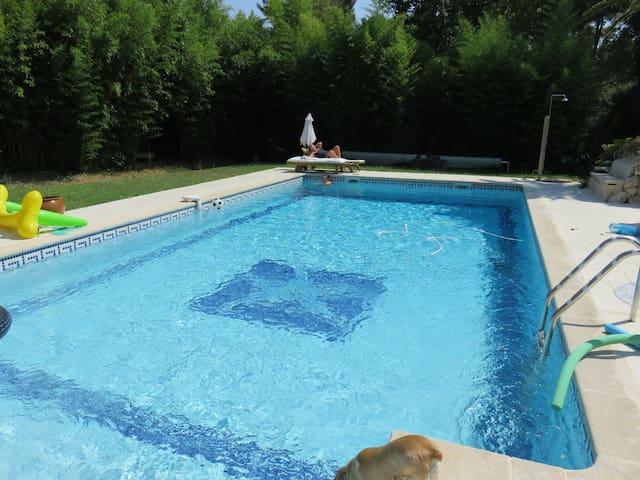 maison avec grande piscine - Velaux