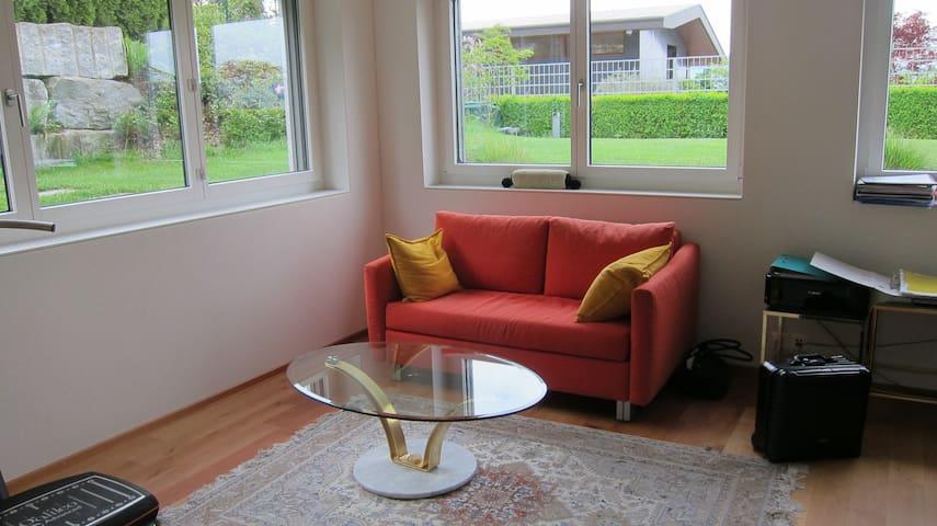 Daheim -helle 2,5 Zimmer Wohnung - Uetikon am See - Apartamento