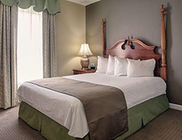 1 Bedroom at Wyndham Kingsgate - Williamsburg - Appartement en résidence