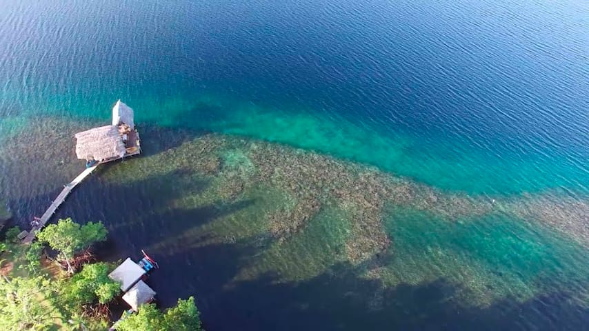 Secluded Tropical Reef Cabin - Bocas del Toro District - キャビン