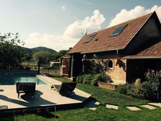 LE GITE DE NIOBE  calme ensoleillé dans le village - Andlau - Huis