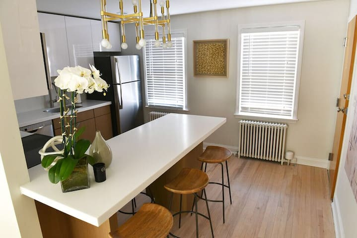 Chic West Hartford Center Apartment - West Hartford - Appartement