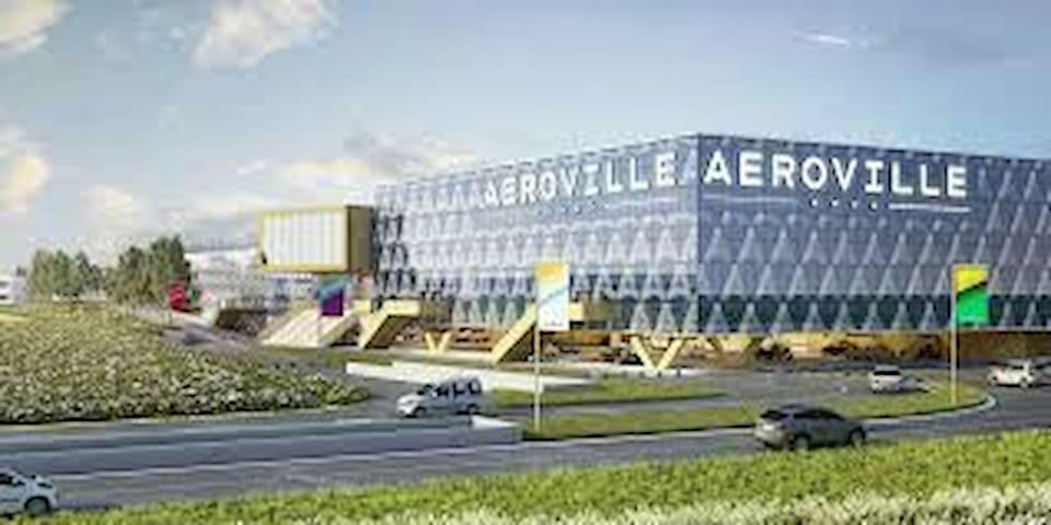 Chambre proche aéroport roissy cdg - Goussainville - Hus