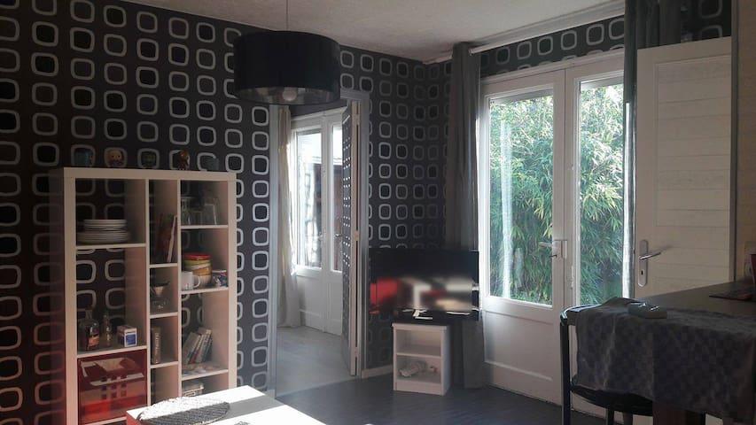Jolie petite maison en fond de jardin à Rennes - Rennes - Huis