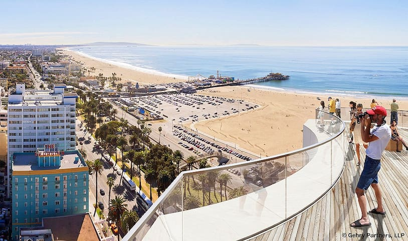 Lux room in SM 5 min to the beach - Santa Monica