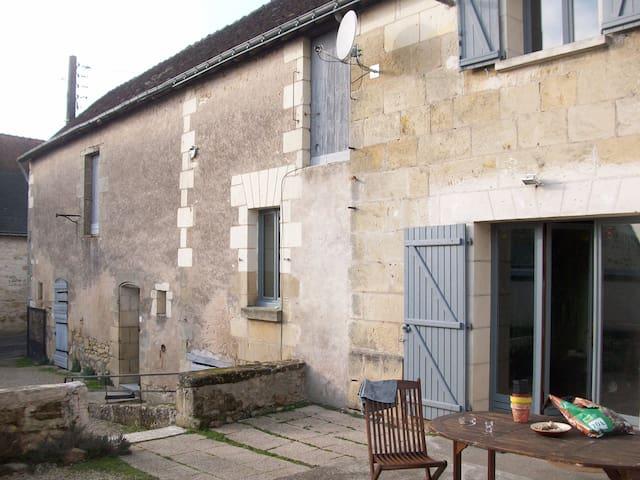 maison ste maure de touraine - Sainte-Maure-de-Touraine - Casa