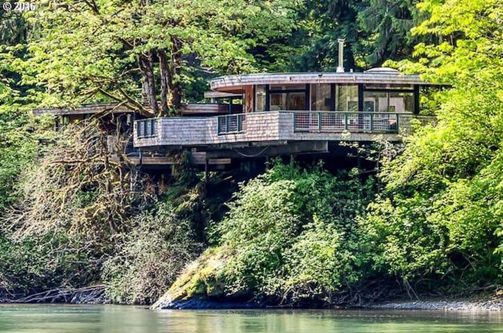 McKenzie River Sky House - Springfield - Ev